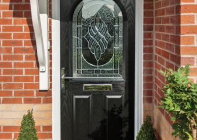 Seyward Windows Composite black Door Dorset
