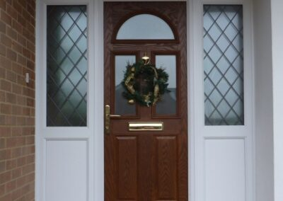 Oak Composite door fitted Corfe Mullen