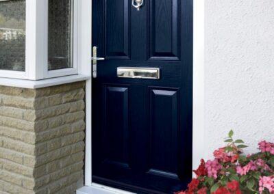 Seyward Traditional Composite blue front Door Dorset