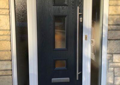 Seyward Composite front Door fitted in Broadstone Dorset