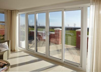 Seyward patio doors and sidelight Broadstone, Dorset