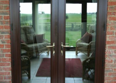 Seyward French doors and sidelight Hampshire