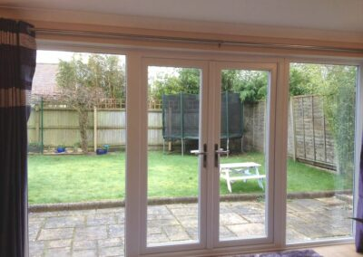 Seyward UPVC French doors and sidelights fitted in Corfe Mullen