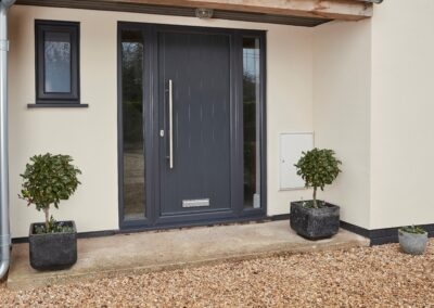 Endurance Anthacite Grey Composite door and sidelights