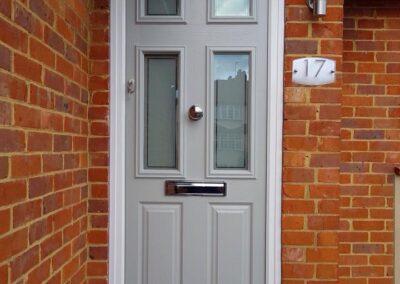 Elephant Grey Composite door