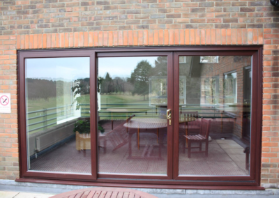 Rosewood UPVC PATIO doors fitted in Broadstone