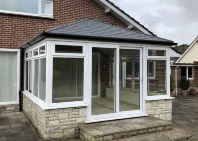 Tiled conservatory replacement roof Broadstone