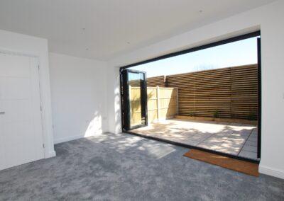 Grey Aluminum Bi-fold doors fitted in Poole