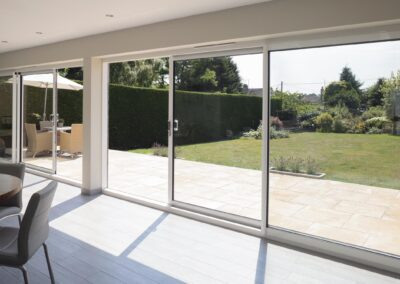 Smart systems white Aluminium Sliding Patio doors