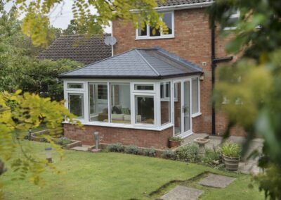 Replacement conservatory tiled roof - ultraroof