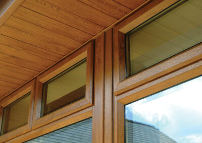 Oak UPVC soffits