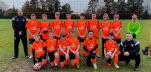 Local U14 football team